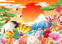 Japanese style background Japan