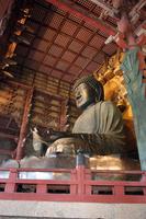 Todaiji Temple Buddha stock photo