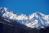 Snow Mountain Northern Alps Stock photo [3455388] Snow