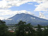 Iwaki as viewed from Hirosaki Castle Stock photo [3457260] Mt.