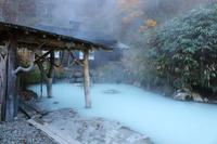 Onsen Akita Prefecture nipple hot spring village crane Stock photo [3457641] Onsen