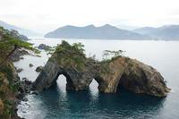 Iwate Prefecture Goishi Coast Ana-doriiso Stock photo [3457768] Goishi