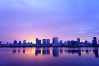 Dawn of Yodogawa Metropolitan Umeda building Stock photo [3466006] Yodogawa