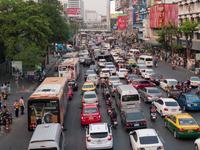 Congestion of Bangkok city Stock photo [3562122] Thailand