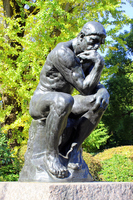 Thinker of the National Museum of Western Art Stock photo [3562151] Ueno