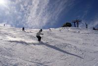晴天のゲレンデ Stock photo [3562784] スキー