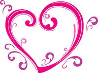 Pink Heart [3563102] Hart