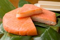 "Toyama specialty ""masu sushi"" stock photo"