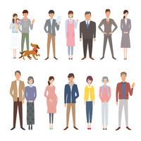 Person illustrations generation [3672820] Parent