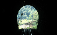 Tunnel from the trolley train Stock photo [3675776] Oboke-Koboke