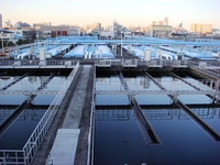 Water purification facility Stock photo [3676376] Water