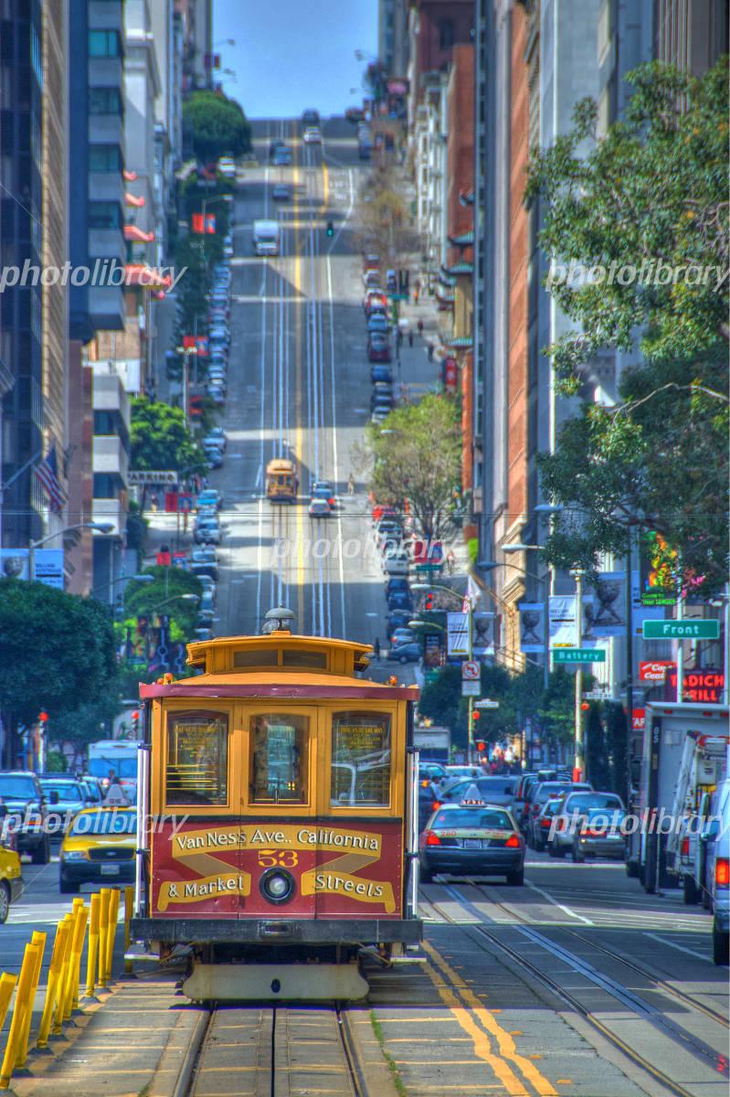 サンフランシスコのケーブルカー 写真素材 [ 3780826 ] - フォトライブ ...
