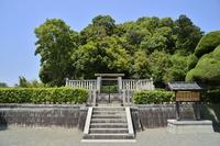 Noguchi royal tombs tumulus Tenmu Ling Stock photo [3775758] Noguchi