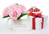 Birthday rose gift Stock photo [3778486] Birthday