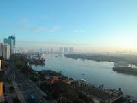Early morning of the Saigon River Stock photo [3784768] Saigon