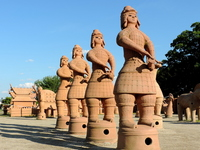 Now Jozuka tumulus clay image ritual Stock photo [3787759] Now