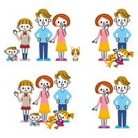 Family illustrations [3886940] Family