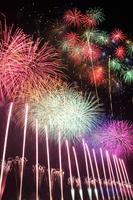 Nagano festival in honor of Ebisu fireworks Stock photo [3888342] Fireworks