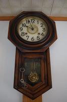 Old wall clock (clockwork) Stock photo [3977895] Clock