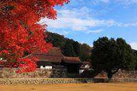 秋の備前市旧閑谷学校
