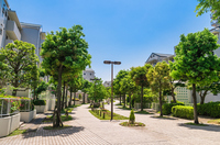 A quiet residential area Stock photo [3980723] Residential