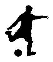 Soccer silhouette [3983591] Football