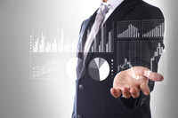Day trader Stock photo [4061637] stock