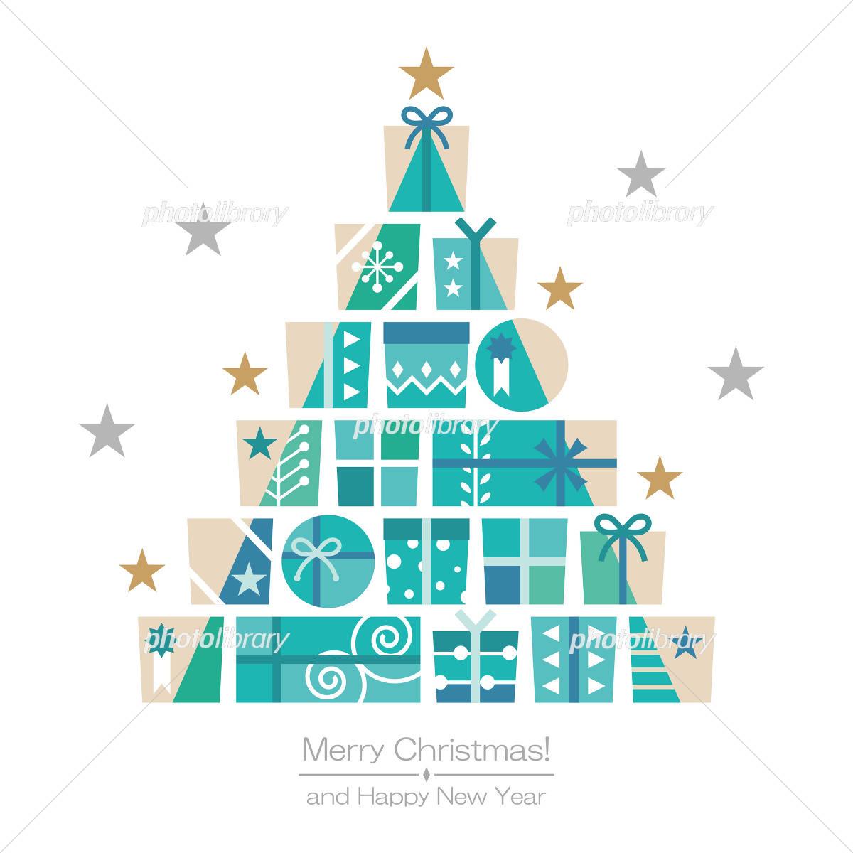 クリスマスプレゼントボックス イラスト素材 4141612 フォトライブ