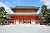 Heian Shrine 応天 Gate Stock photo [4138703] Kyoto