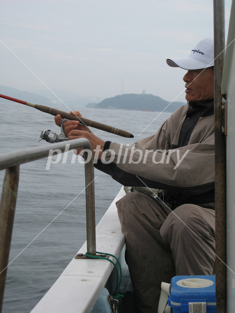 Fun boat fishing Photo