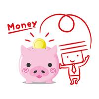 Businessman savings [4188459] savings