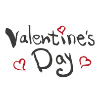 Valentine's Day English brush character [4232060] Valentine