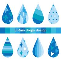 8 Tsunoshizuku design [4233901] Raindrop