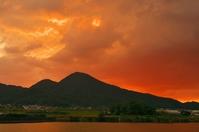 Of sunset Nijo Stock photo [4237934] Nara