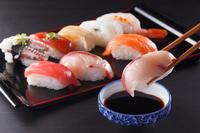 Nigiri sushi platter Sushi