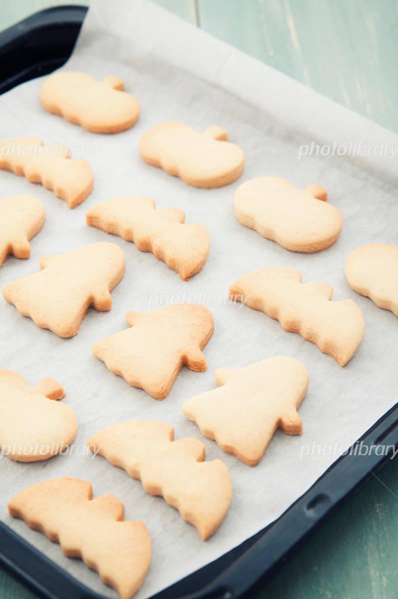 Handmade Halloween cookies Photo