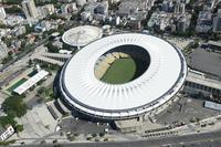 Maracana Stadium emissions Stock photo [4366337] Brazil