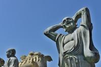 大佛禅院の羅漢像
