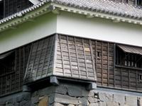 It dropped stone of Kumamoto Castle Uto oar Stock photo [4369119] Kumamoto