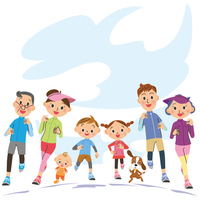 Running in a three-generation family [4445167] Parent