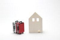 House and suitcase Stock photo [4445741] Homestay