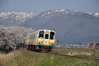 Yamagata Railway Flower Nagai Line Stock photo [4447593] Yamagata