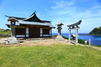 Chikuzen Oshima Munakata Taisha Miya Okitsu 遙拝 office Stock photo [4452822] Munakata