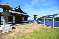 Chikuzen Oshima Munakata Taisha Miya Okitsu 遙拝 office Stock photo [4452845] Munakata