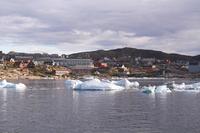 Ilulissat Greenland Arctic Circle in the harbor Stock photo [4453698] North