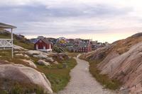 Ilulissat Village Greenland Stock photo [4453734] North