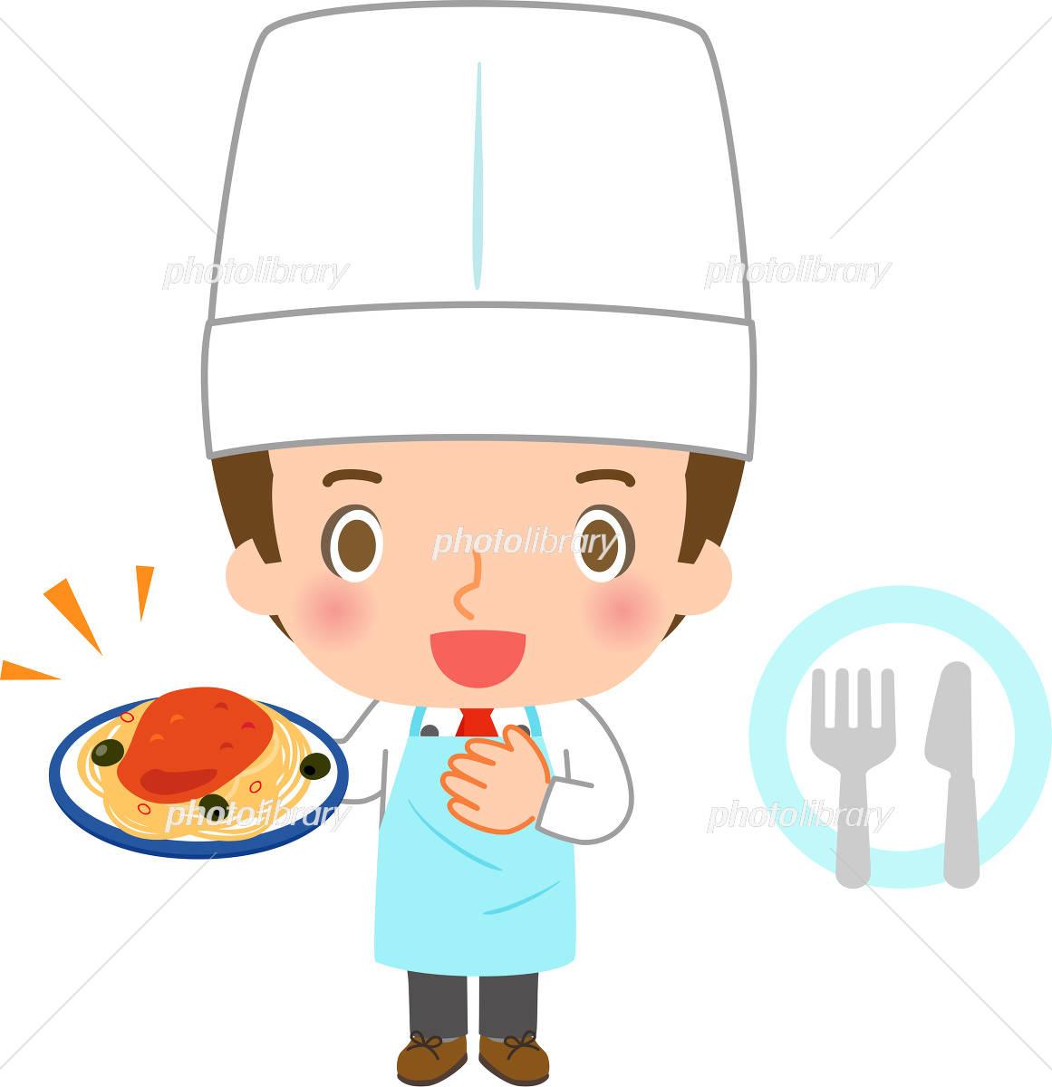 イタリア料理のシェフ イラスト素材 4536780 フォトライブラリー