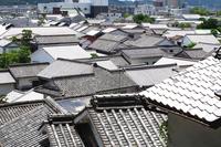Roof of Kurashiki aesthetic area of \houses Stock photo [4533426] Kurashiki