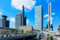 Bill group and the blue sky of the Saitama New Urban Center Stock photo [4534881] Saitama