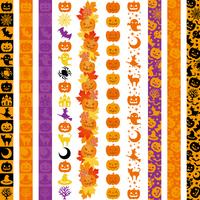 Halloween vertical line [4536773] Halloween
